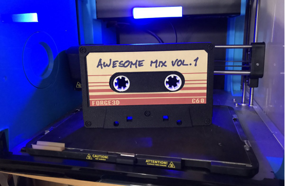 eSUNcooperates with MyMinifactory on Awesome Mix Tape model from Guardians of the Galaxy