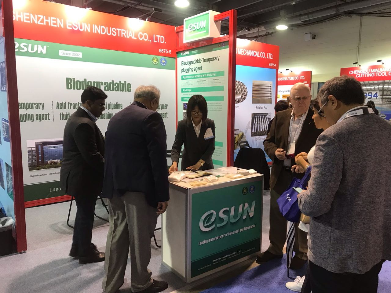 eSUN show biodegradable bio-polymer material application in OTC !