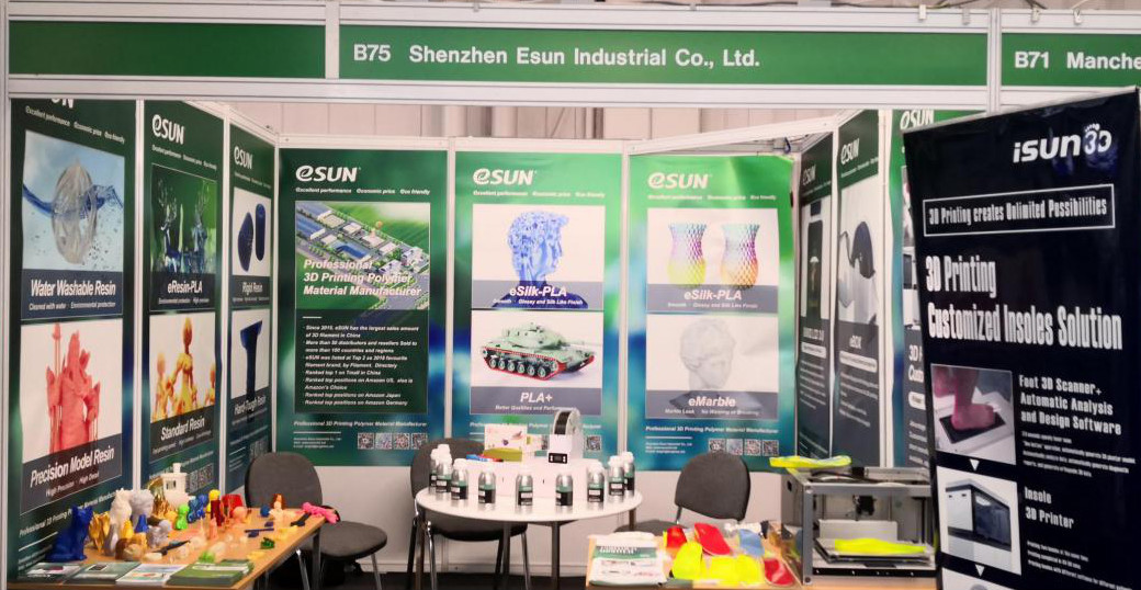 eSUN brings hot products to shine at TCT SHOW 2019