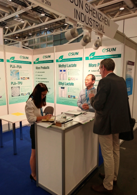 eSUN learns fine & speciality chemicals in Chemspec Europe 2019 esun