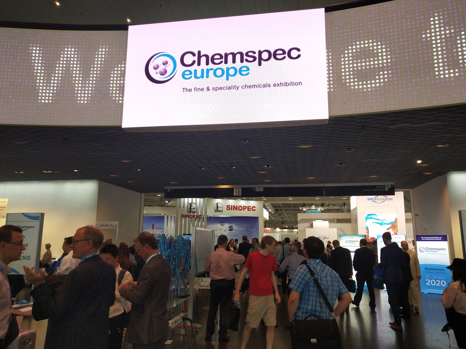 eSUN learns fine & speciality chemicals in Chemspec Europe 2019|esun